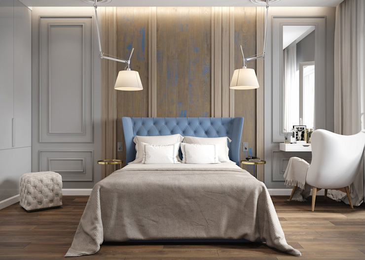 Post Modern Residency ACOR HOME LIFE SOLUTIONS Colonial style bedroom