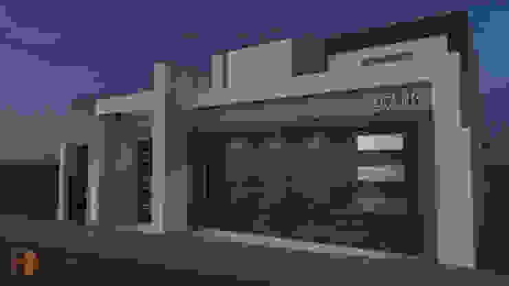 CASA GRAN SEGOVIA Casas modernas de Domus Constructora Moderno Concreto reforzado