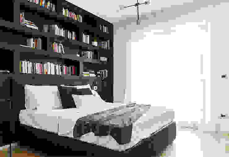 Ristrutturazione appartamento in Torre Dacia Made with home Camera da letto minimalista