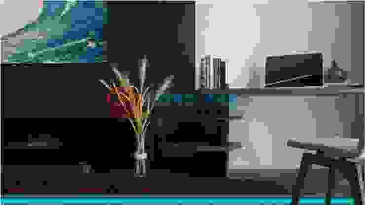 Thiết Kế Nội Thất Nhà 5 Tầng Hiện Đại Và Sang Trọng: hiện đại  by Công ty TNHH TK XD Song Phát, Hiện đại Đồng / Đồng / Đồng thau