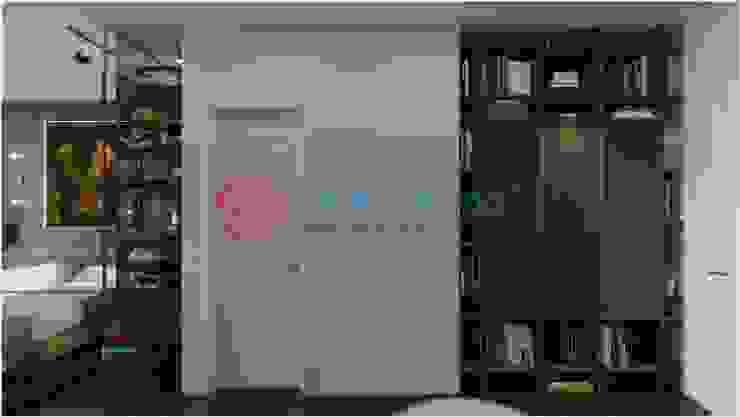 Thiết Kế Nội Thất Nhà 5 Tầng Hiện Đại Và Sang Trọng: hiện đại  by Công ty TNHH TK XD Song Phát, Hiện đại Da Grey