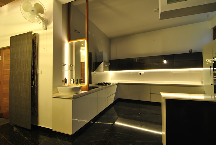 works Minimalist kitchen by ekokynesis (eko-kina-sis) Minimalist