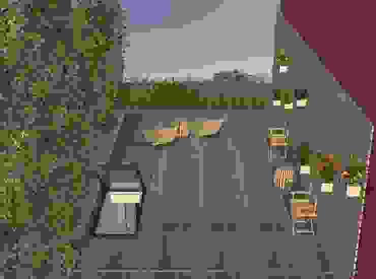 Modern Terrace by Nuno Ladeiro, Arquitetura e Design Modern