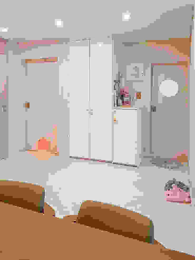 군포시 산본동 한라주공 아파트 인테리어 모던스타일 거실 by 그리다집 모던 우드 우드 그레인
