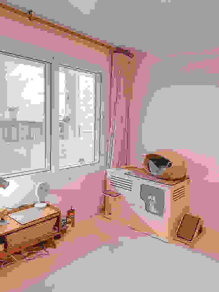 군포시 산본동 한라주공 아파트 인테리어 모던스타일 미디어 룸 by 그리다집 모던