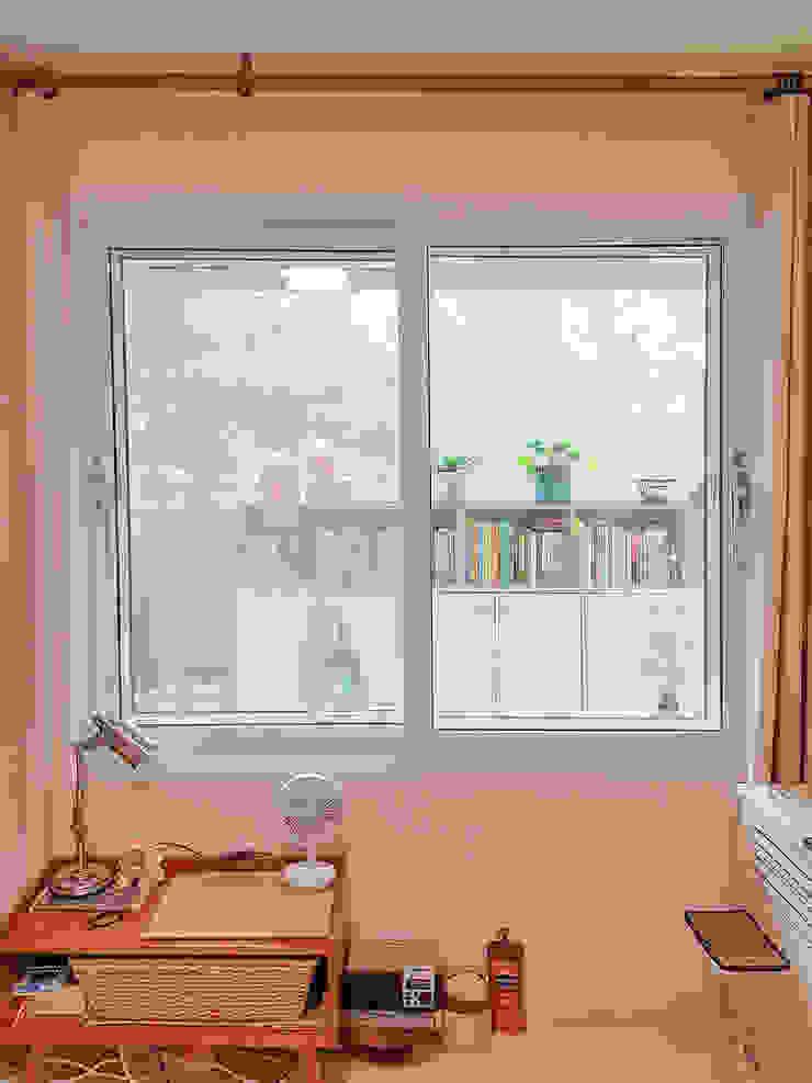 군포시 산본동 한라주공 아파트 인테리어 모던스타일 창문 & 문 by 그리다집 모던