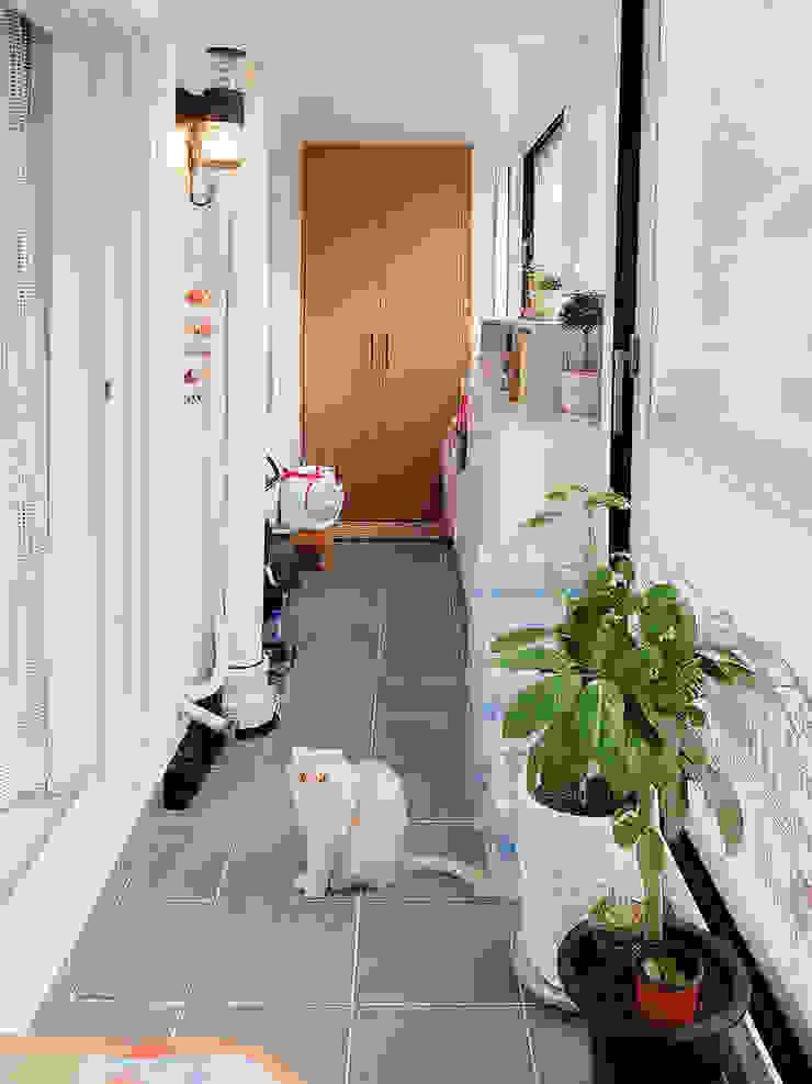 군포시 산본동 한라주공 아파트 인테리어 by 그리다집 모던 타일