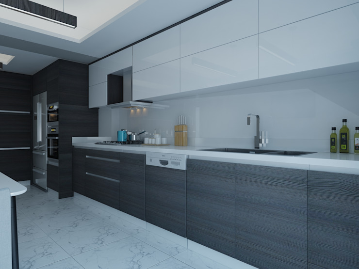Kitchen by Mekgrup İç Mimari ve Dekorasyon, Modern