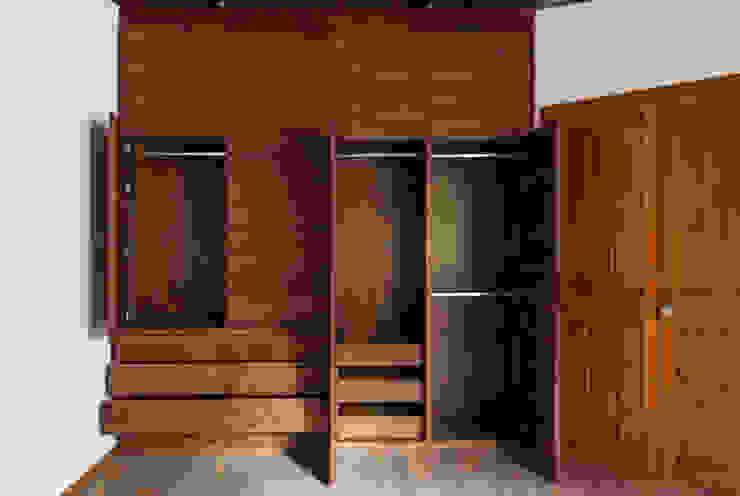 Sierra Itambé Vestidores modernos de Maquiladora de Muebles Moderno Madera Acabado en madera