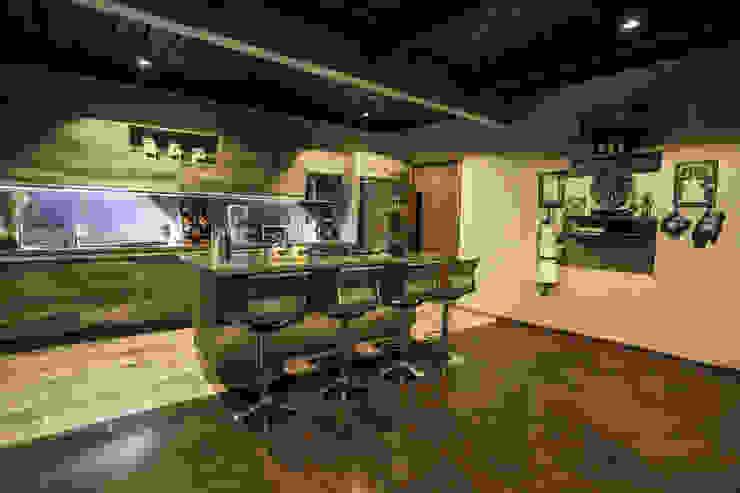 Cocinas de estilo moderno de Con Contenedores S.A. de C.V. Moderno