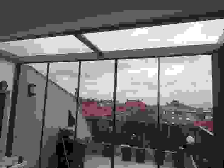 Yapısan Cephe Sistemleri Moderner Wintergarten Glas Transparent