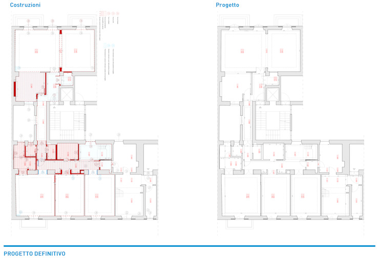 Presentazione iter progettuale di Chantal Forzatti architetto Classico Granito