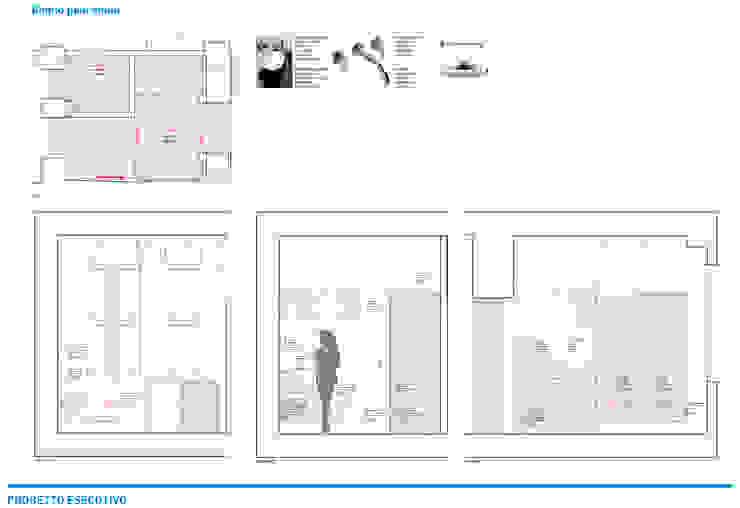 Presentazione iter progettuale Sala da pranzo in stile mediterraneo di Chantal Forzatti architetto Mediterraneo Marmo