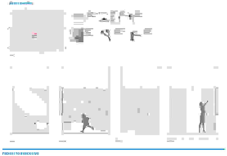 Presentazione iter progettuale di Chantal Forzatti architetto Minimalista Cemento armato