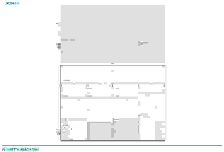 Presentazione iter progettuale Pareti & Pavimenti in stile minimalista di Chantal Forzatti architetto Minimalista Legno Effetto legno