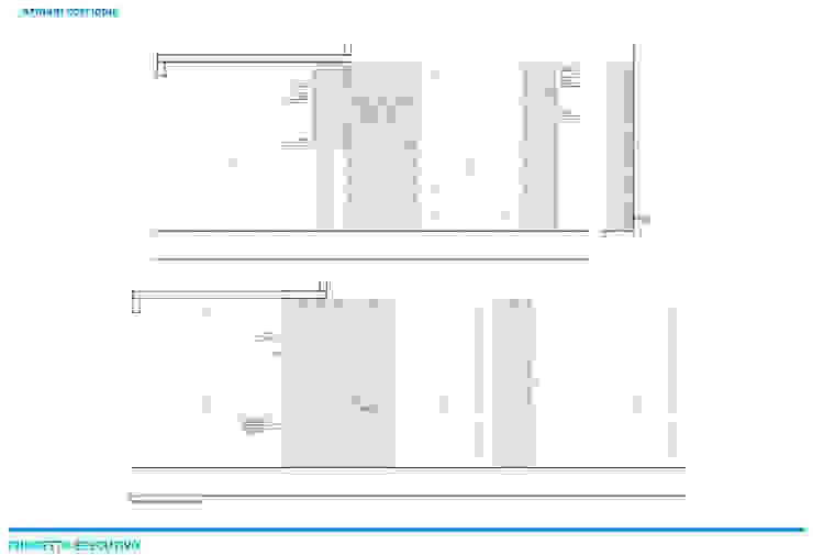 Presentazione iter progettuale di Chantal Forzatti architetto Moderno Legno Effetto legno