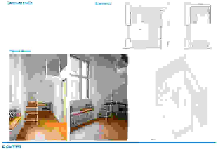 Chantal Forzatti architetto Habitaciones de bebé Mármol Rosa