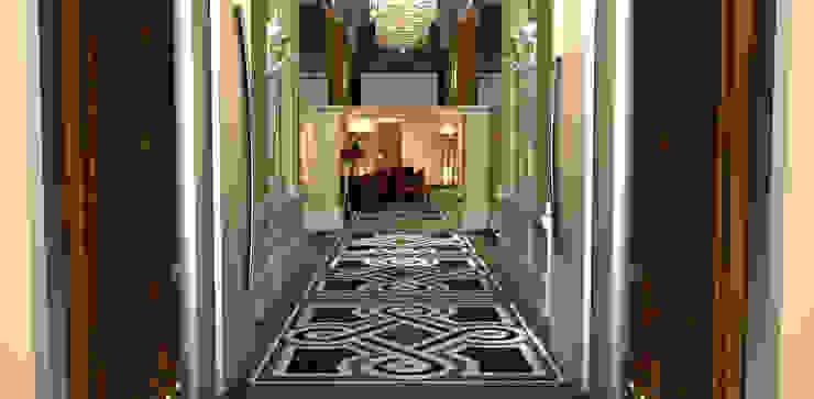 Marble Floor Mediterranean style hotels by ARTE DELL' ABITARE Mediterranean Marble