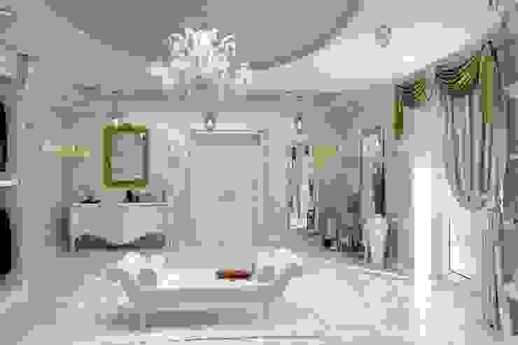 Гардеробная комната Гардеробная в классическом стиле от Цунёв_Дизайн. Студия интерьерных решений. Классический