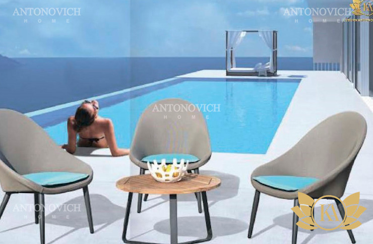 Top Newest Outdoor Furniture for Everyone by Luxury Antonovich Design