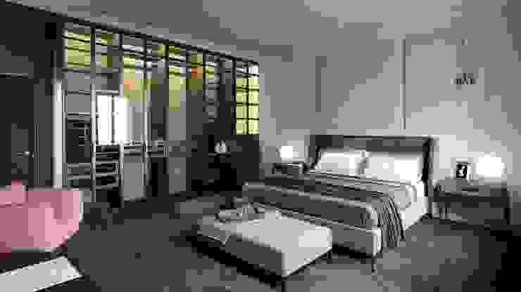 Salas de estilo minimalista de Ale design Grzegorz Grzywacz Minimalista