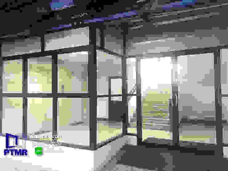 งานกั้น อลูมิเนียม กระจก โรงงาน พัฒนากระจก พัทยา Pattana Mirror