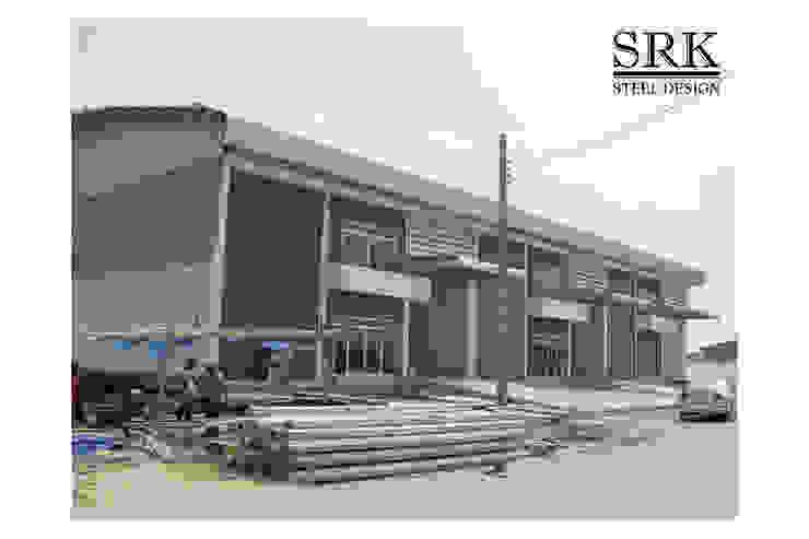 ก่อสร้างโกดัง โครงการจงศิริพาร์คแลนด์ โดย SRK Contractor
