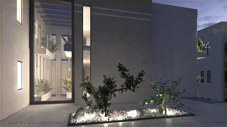 Casas modernas por Saif Mourad Creations Moderno