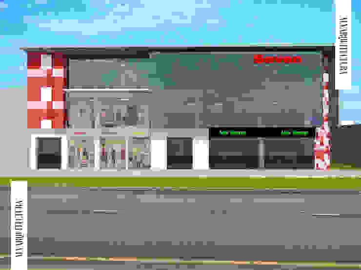 Edificio Comercial Seven de Jorge Levano Moderno