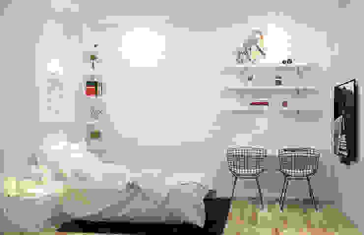 Mẫu thiết kế phòng ngủ tông màu sáng năm 2019: Châu Á  by Công ty TNHH sửa chữa nhà phố trọn gói An Phú 0911.120.739, Châu Á