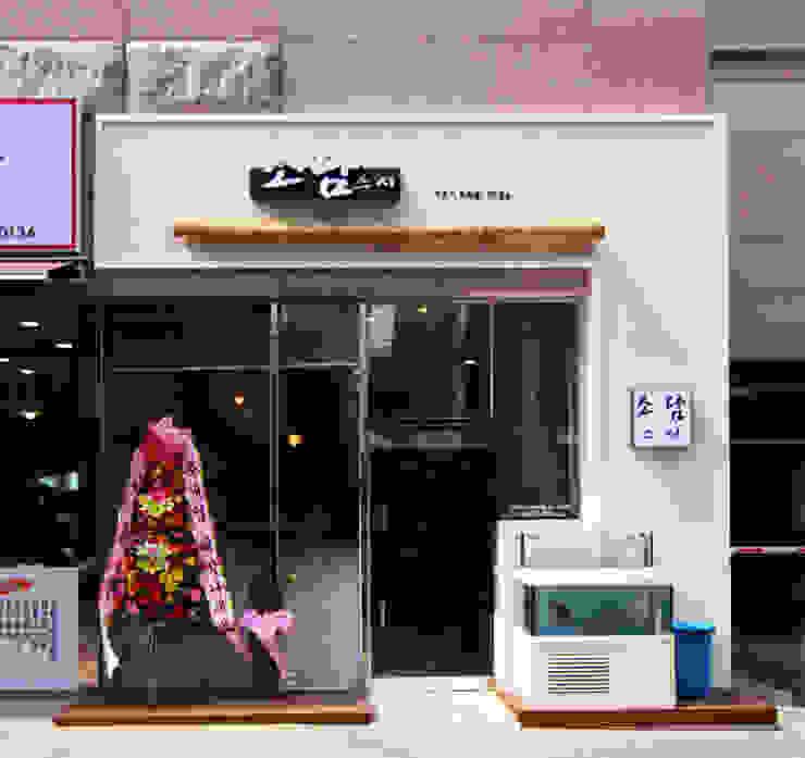 초밥 일식집 - 소담 외부디자인 by IDA - 아이엘아이 디자인 아틀리에 러스틱 (Rustic) OSB