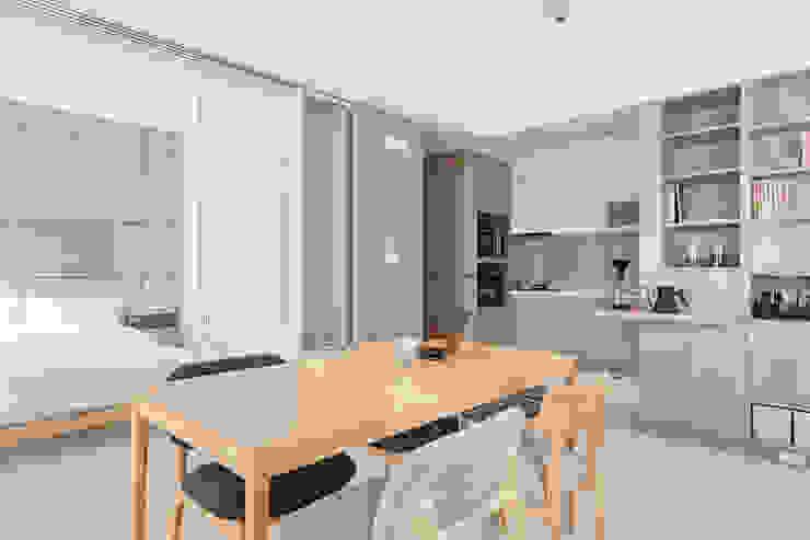 靜享宅 文儀室內裝修設計有限公司 餐廳 木頭 Wood effect