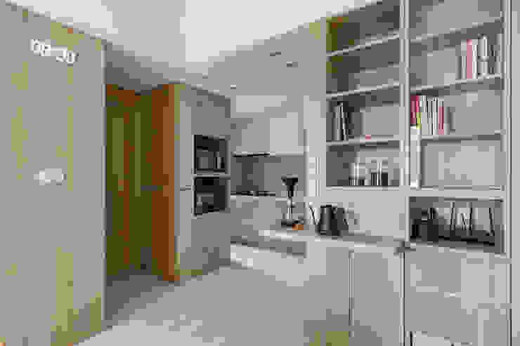 靜享宅 文儀室內裝修設計有限公司 牆面 木頭 Wood effect