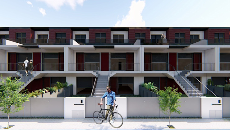 Residências por Jah Building Solutions Minimalista