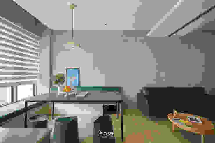 Apartment P 根據 六相設計 Phase6 隨意取材風