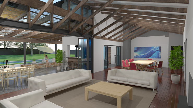 Indoor / outdoor relationship by Edge Design Studio Architects Country