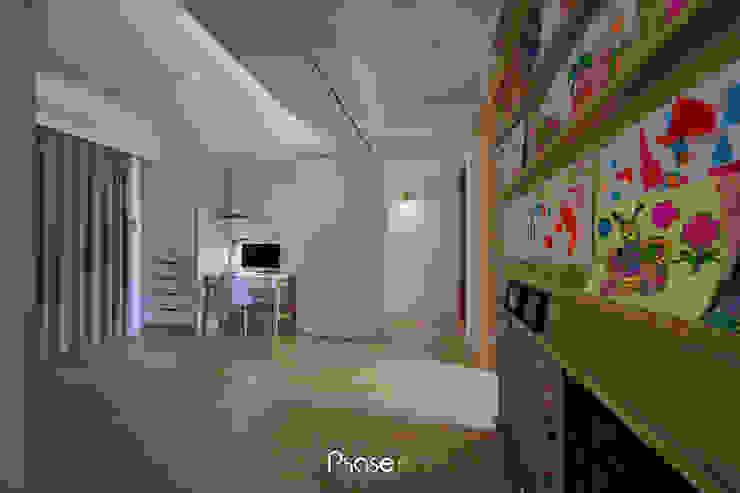 Apartment W 隨意取材風玄關、階梯與走廊 根據 六相設計 Phase6 隨意取材風