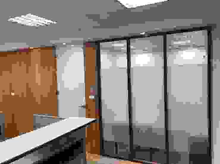 沉穩大器 辦公室裝修案 根據 捷士空間設計(省錢裝潢) 日式風、東方風
