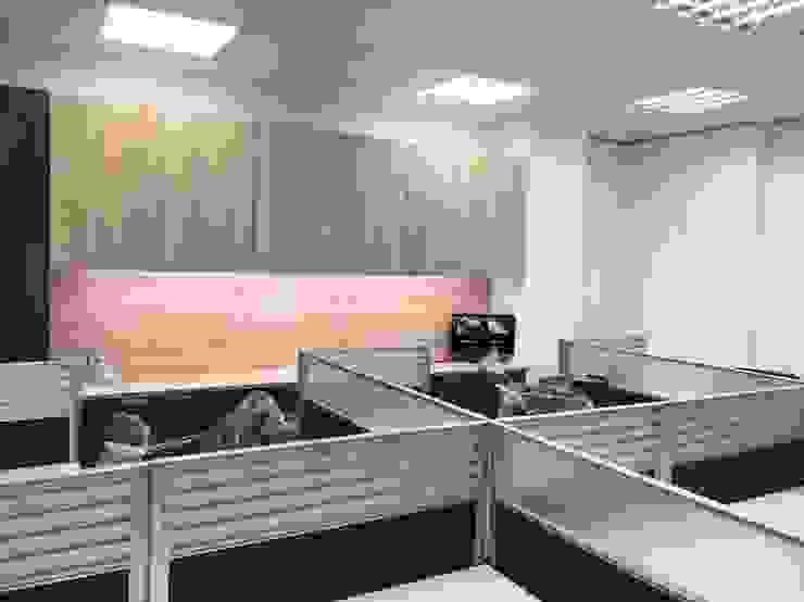 Офисы и магазины в азиатском стиле от 捷士空間設計(省錢裝潢) Азиатский