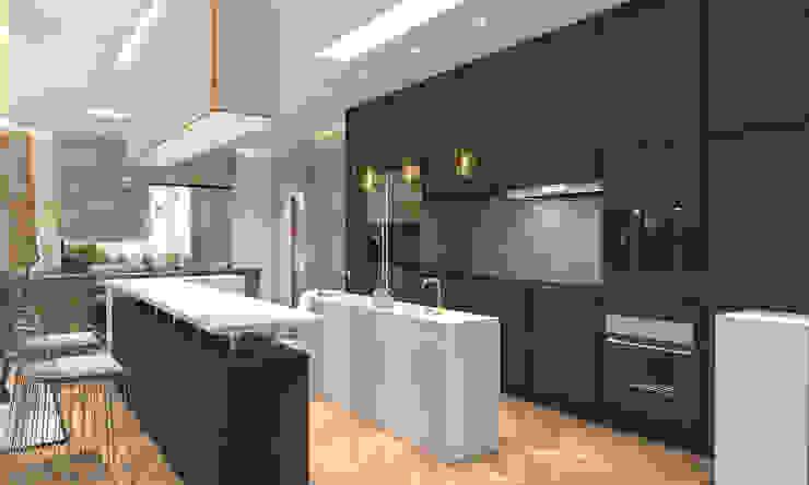 Kitchen Modern kitchen by Saif Mourad Creations Modern