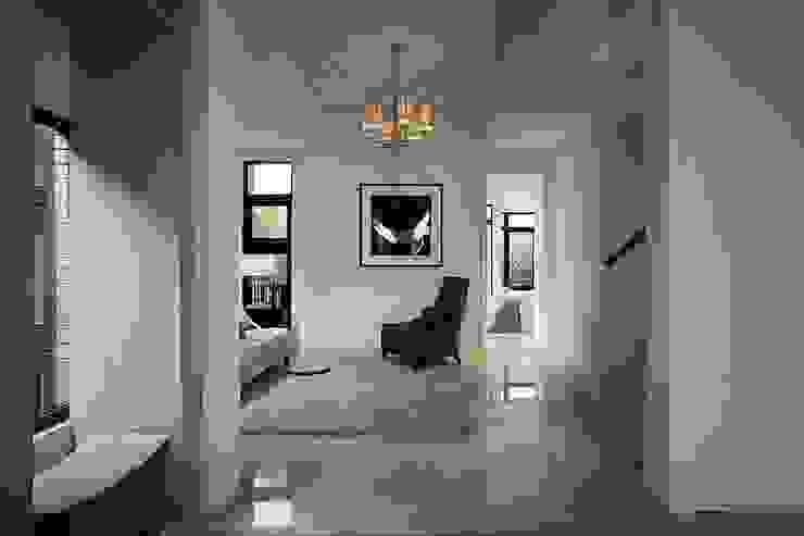 Paredes e pisos clássicos por 大桓設計顧問有限公司 Clássico