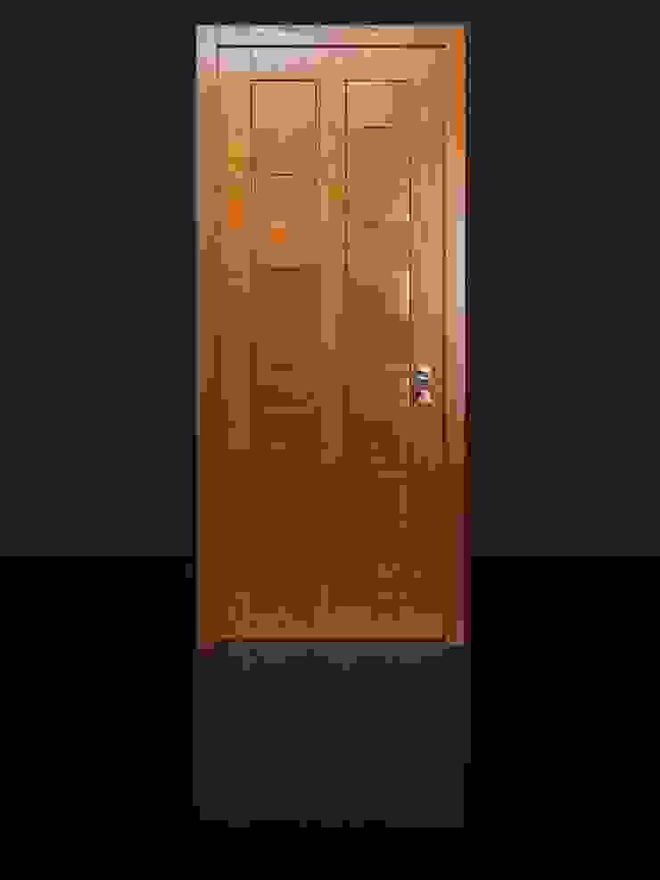 Porta blindata legno e gres von Ercole Srl   homify