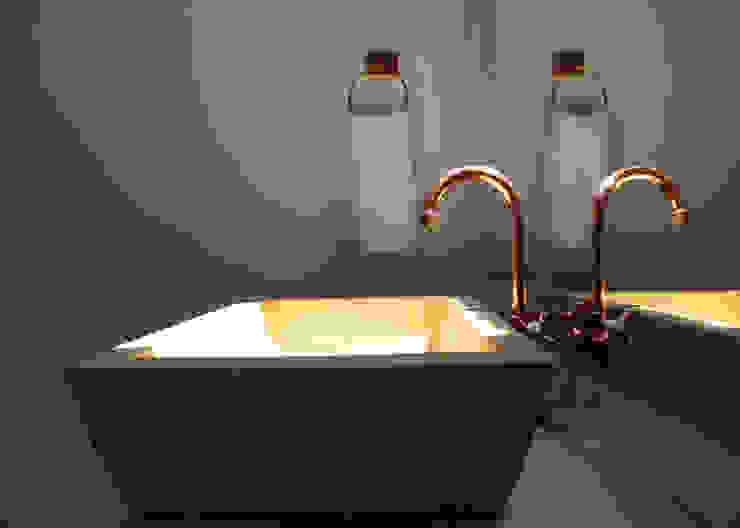 Baños de estilo rústico de Gamma Rústico