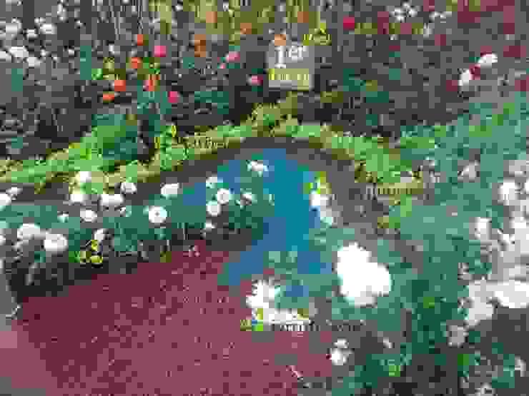 Nuevo grano para la decoración de jardines de Jarrrdin.com Moderno Goma