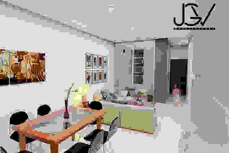 Sala-Comedor Salones modernos de JGV Arquitectura Moderno