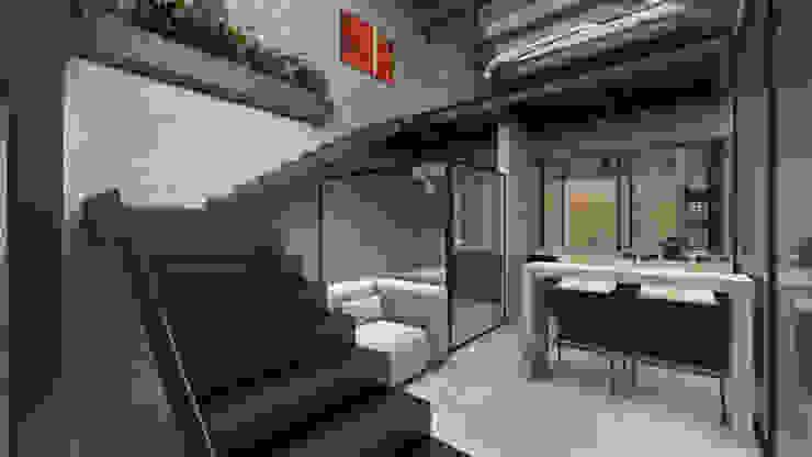 G._ALARQ + TAGA Arquitectos Stairs