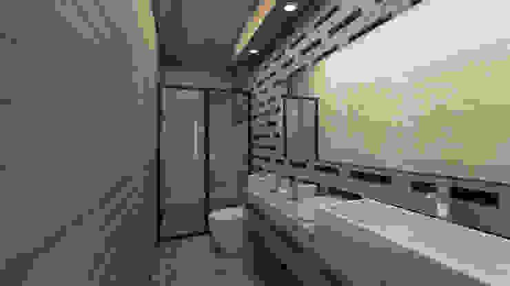 Minimalistyczna łazienka od G._ALARQ. Minimalistyczny