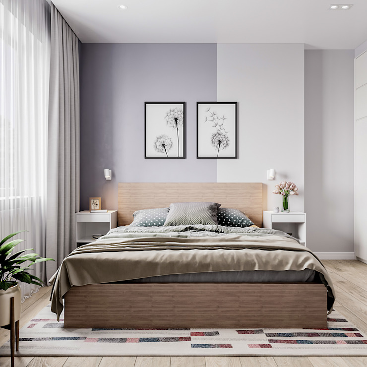 Modern style bedroom by Goroh бюро Modern