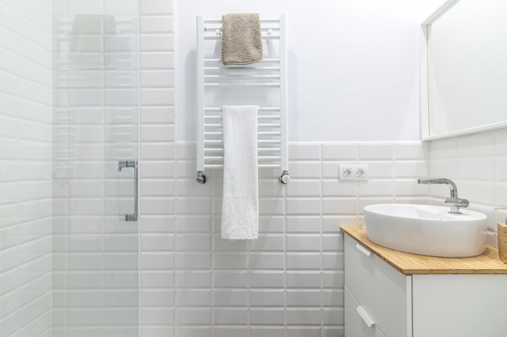 can paguera Fiol arquitectes Classic style bathroom