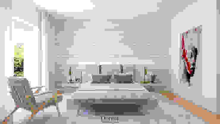 Quarto Apartamento Quartos industriais por Donna - Exclusividade e Design Industrial
